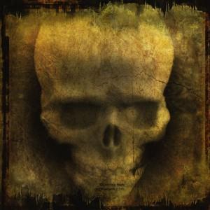 Vintage-Grunge-Skull